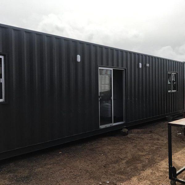 Container Casa Exterior - Contenedor 40 / 2 Dormitorios